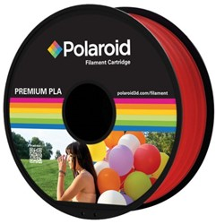 3D FILAMENT POLAROID 1.75MM PLA ROOD -3D PRINTERS SUPPLIES PL-8002-00