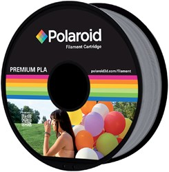 3D FILAMENT POLAROID 1.75MM PLA ZILVER -3D PRINTERS SUPPLIES PL-8007-00