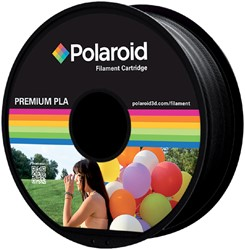 3D FILAMENT POLAROID 1.75MM PLA ZWART -3D PRINTERS SUPPLIES PL-8008-00