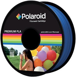 3D FILAMENT POLAROID 1.75MM PLA BLAUW -3D PRINTERS SUPPLIES PL-8010-00