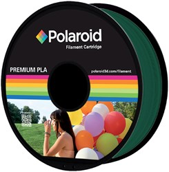 3D FILAMENT POLAROID 1.75MM PLA -3D PRINTERS SUPPLIES PL-8014-00 DONKERGROEN