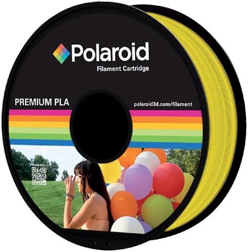 3D FILAMENT POLAROID 1.75MM PLA GEEL -3D PRINTERS SUPPLIES PL-8016-00