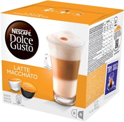 DOLCE GUSTO LATE MACCHIATO 16 CUPS / 8 -WARME DRANKEN 12074750 DRANKEN