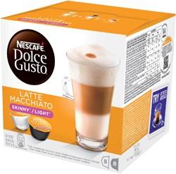 DOLCE GUSTO LATE MACCHIATO LIGHT 16 -WARME DRANKEN 12120272 CUPS / 8 DRANKEN