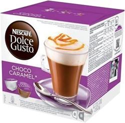 DOLCE GUSTO CHOCO CARAMEL 16 CUPS / 8 -WARME DRANKEN 12212467 DRANKEN