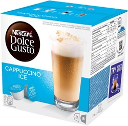 DOLCE GUSTO CAPPUCCINO ICE 16 CUPS / 8 -WARME DRANKEN 12120396 DRANKEN