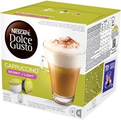 DOLCE GUSTO CAPPUCCINO LIGHT 16 CUPS / -WARME DRANKEN 12120398 8 DRANKEN