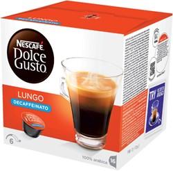 DOLCE GUSTO LUNGO DECAFFEINATO 16 CUPS -WARME DRANKEN 12062868