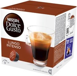 DOLCE GUSTO LUNGO INTENSO 16 CUPS -WARME DRANKEN 12173479