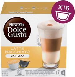 DOLCE GUSTO VANILLE MACCHIATO 16 CUPS / -WARME DRANKEN 12125501 8 DRANKEN