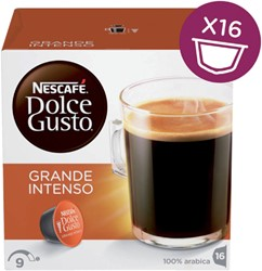 DOLCE GUSTO GRANDE INTENSO 16 CUPS -WARME DRANKEN 12128828