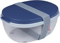 SALADEBOX ELLIPSE NORDIC DENIM -BRANCHE VERWANT 107640516800