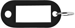 SLEUTELLABEL PAVO PLASTIC ZWART -SLEUTELKASTJES EN TOEBEHOREN 8008902