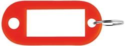 SLEUTELLABEL PAVO PLASTIC ROOD -SLEUTELKASTJES EN TOEBEHOREN 8008919