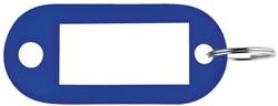 SLEUTELLABEL PAVO PLASTIC DONKERBLAUW -SLEUTELKASTJES EN TOEBEHOREN 8008926 SLEUTELHANGER METAAL CHROME KAT