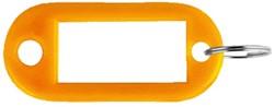 SLEUTELLABEL PAVO PLASTIC ORANJE -SLEUTELKASTJES EN TOEBEHOREN 8008957