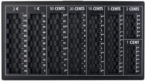 Muntinzetbak pavo 303x180x25mm zwart -G041084 8041084