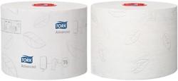 TOILETPAPIER TORK T6 MID-SIZE 2LAAGS -SANITAIR PAPIERWAREN 127530 ADVANCED 27 ROL 127530