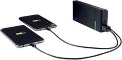 POWERPACK LEITZ COMPLETE USB 10400MAH -TABLET EN PHONE LADERS EN ACC. 63130095 ZWART