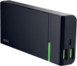 POWERPACK LEITZ COMPLETE USB 10400MAH -TABLET EN PHONE LADERS EN ACC. 63130095 ZWART