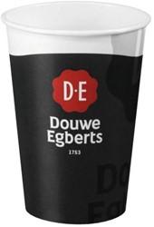 BEKER PAPER CUPS DOUWE EGBERTS 180CC -SERVIES EN BESTEK 4055509