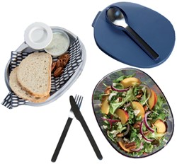 SALADEBOX ELLIPSE NORDIC DENIM -BRANCHE VERWANT 107640516800