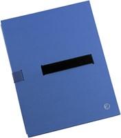 BULKMAP JALEMA MET KLITTENBANDSLUITING -VOUW- EN DOSSIERMAPPEN 2850002 BLAUW-3