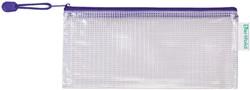 OPBERGTAS TARIFOLD MET RITS CHEQUE -LOSBLADIGE OPBERGING 509041 FORMAAT BLAUW