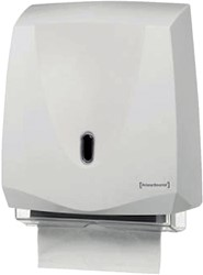 DISPENSER PRIMESOURCE HANDDOEK CLASSIC -SANITAIR DISPENSERS 10401 WIT