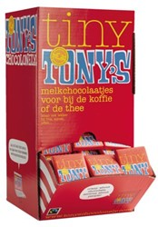 CHOCOLADE TONY'S CHOCOLONELY -PREMIUM NLRTM700 NAPOLITAINS MELK 700GR