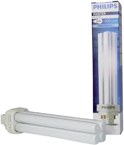 Spaarlamp philips master pl-c 26w 830 -L12045 112045 4p