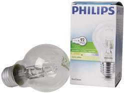 HALOGEENLAMP PHILIPS E27 70W 230V A55 -LAMPEN EN VERLICHTING 153895 ECOCLASSIC