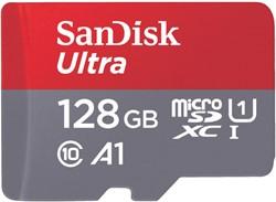 GEHEUGENKAART SANDISK MICRO SDXC -GEHEUGENKAARTEN 173449 ANDROID 128GB CL10