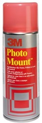 FOTOLIJM 3M FOTOMOUNT SPRAY 400ML -LIJMEN PHOTO LIJM 3M FOTOMOUNT BUS 400ML
