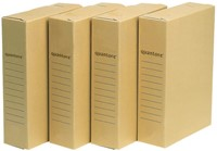 ARCHIEFDOOS QUANTORE A4 230X80X320MM -HUISMERK OPBERGMIDDELEN 7212183 ARCHIEFDOOS OFFICE STORE A4 230X80X320MM
