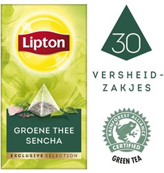 THEE LIPTON EXCLUSIVE GROENE THEE -WARME DRANKEN 19952501 SENCHA