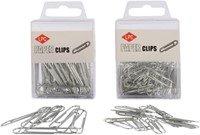 PAPERCLIP LPC 30MM ROND ZILVER -PAPERCLIPS 10310-2