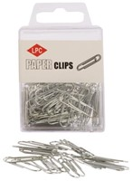 PAPERCLIP LPC 30MM ROND ZILVER -PAPERCLIPS 10310