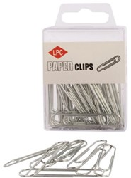 PAPERCLIP LPC 50MM ROND ZILVER -PAPERCLIPS 10311