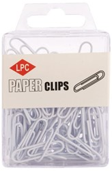 PAPERCLIP LPC 28MM WIT -PAPERCLIPS 20502 WIT
