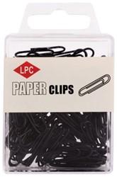 PAPERCLIP LPC 28MM ZWART -PAPERCLIPS 20505