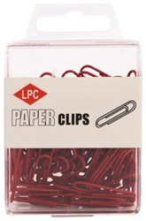 PAPERCLIP LPC 28MM ROOD -PAPERCLIPS 20501