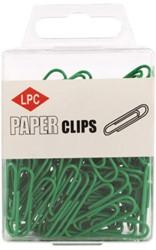 PAPERCLIP LPC 28MM GROEN -PAPERCLIPS 20504