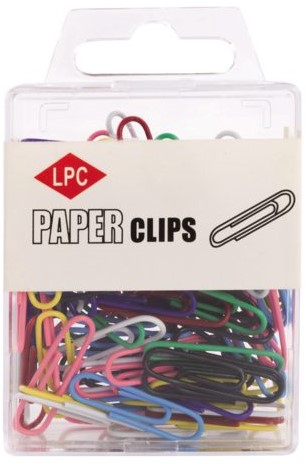 PAPERCLIP LPC 28MM ASSORTI -PAPERCLIPS 20500