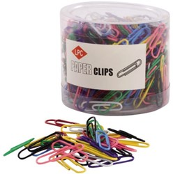PAPERCLIP LPC 28MM ASSORTI -PAPERCLIPS 21510