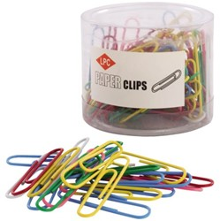 PAPERCLIP LPC 50MM ASSORTI -PAPERCLIPS 21520