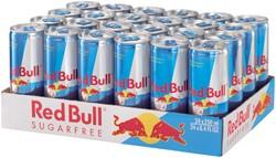 ENERGY DRANK RED BULL SUGAR FREE BLIKJE -KOUDE DRANKEN 976134 0.25L
