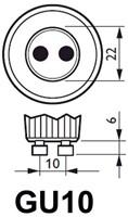 LEDLAMP INTEGRAL GU10 5.5W 4000K -LAMPEN EN VERLICHTING ILGU10DE093 DIMBAAR KOEL WIT-3