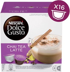 DOLCE GUSTO CHAI TEA LATTE 16 CUPS / 8 -WARME DRANKEN 12130879 DRANKEN
