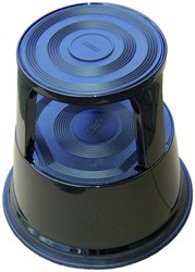 OPSTAPKRUK DESQ ROLL-A-STEP 42CM METAAL -OPSTAPJES EN TRAPPEN 60065.09 ZWART
